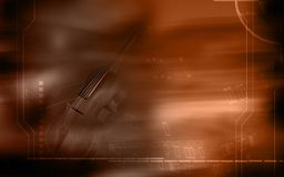 Violin background Royalty Free Stock Images