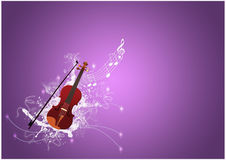 Violin backgrund Stock Photos