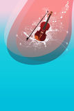 Violin backgrund Royalty Free Stock Photography