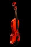 Violin on black Stock Photos