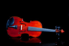 Violin on a black background Royalty Free Stock Photography