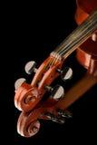 Violin on black background Royalty Free Stock Photos