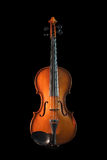 Violin. On a black background Stock Photography