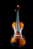 Violin on Black Background Royalty Free Stock Photo