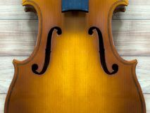 Violin body and neck : background Royalty Free Stock Photos