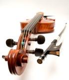 Violin and Bow Royalty Free Stock Image