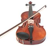 Violin and Bow royalty free stock photos