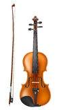 Violin and a bow Royalty Free Stock Photo