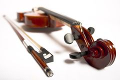 Violin and Bow (series) Stock Images