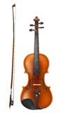 Violin and a bow vector Royalty Free Stock Photos