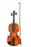 Violin and bow Stock Photography