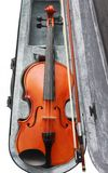 Violin in the box Stock Photography