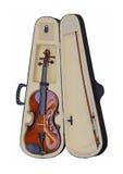 Violin in Case Royalty Free Stock Image