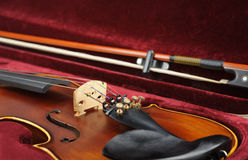Violin in case. Stock Image