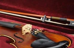 Violin in case. Stock Image