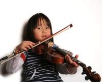 Violin child Royalty Free Stock Image