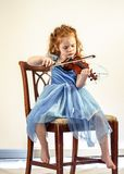 Violin, Child, Girl, Music Royalty Free Stock Photos