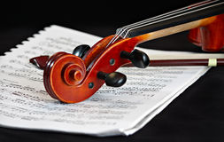 Violin classic string instrument Stock Image