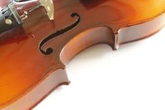 Violin close up Royalty Free Stock Photos