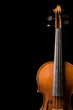 Violin close up Royalty Free Stock Photography