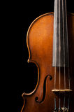Violin close up Royalty Free Stock Photos