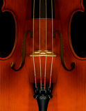 Violin Close-Up Royalty Free Stock Photo