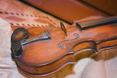 Violin Close-Up Stock Photography