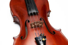 Violin close-up Stock Image