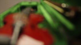 Violin close up stock video footage