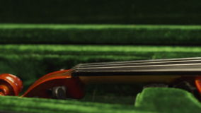 Violin close up stock video