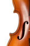 Violin close up Royalty Free Stock Images
