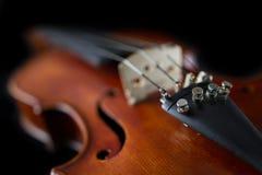 Violin close-up Royalty Free Stock Photo
