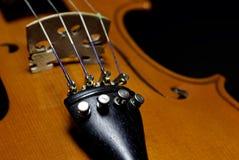 Violin close up Royalty Free Stock Photography