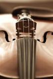 Violin closeup Royalty Free Stock Image