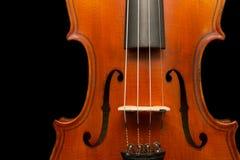 Violin crop Stock Photography
