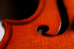 Violin deck Stock Images