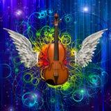 Violin Design Royalty Free Stock Images