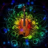 Violin Design Stock Photos