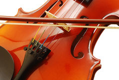 Violin detail Royalty Free Stock Photo