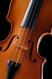 Violin detail Stock Image