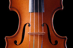 Violin detail Royalty Free Stock Photography