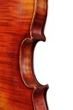 Violin details Stock Photography