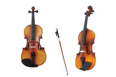 Violin from different viewpoints Stock Images