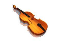 Violin. Digital illustration of violin in white background Royalty Free Stock Image