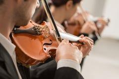 Violin duet performance Stock Image