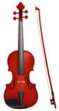 Violin with the fiddlestick Stock Images