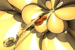 Violin. Royalty Free Stock Photography