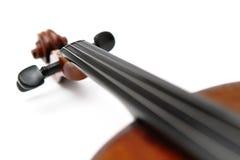 Violin head Royalty Free Stock Photo
