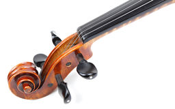 Violin head Royalty Free Stock Photos