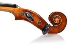 Violin head royalty free stock images